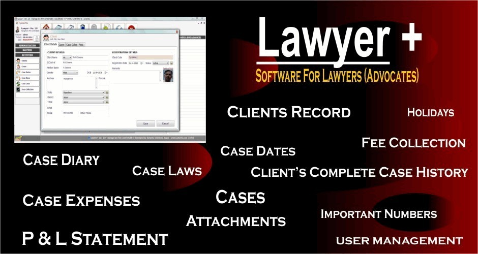 Lawyer + (Software for Lawyers / Advocates)